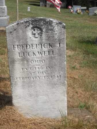 LUCKWELL, FREDERICK J. - Washington County, Ohio | FREDERICK J. LUCKWELL - Ohio Gravestone Photos