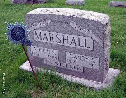 MARSHALL, NANCY S. - Washington County, Ohio | NANCY S. MARSHALL - Ohio Gravestone Photos