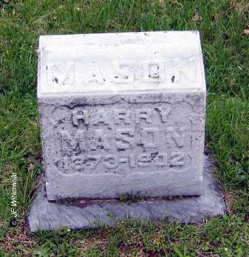 MASON, HARRY C. - Washington County, Ohio   HARRY C. MASON - Ohio Gravestone Photos