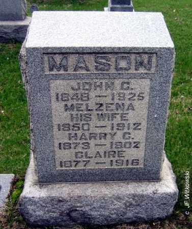 "MASON, MELZENA ""ZENA"" - Washington County, Ohio | MELZENA ""ZENA"" MASON - Ohio Gravestone Photos"