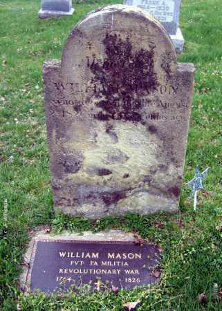 MASON, WILLIAM - Washington County, Ohio | WILLIAM MASON - Ohio Gravestone Photos