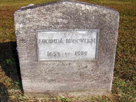 MCGOVERN, LUCINDA - Washington County, Ohio   LUCINDA MCGOVERN - Ohio Gravestone Photos
