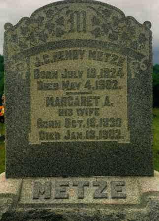METZE, MARGARET - Washington County, Ohio | MARGARET METZE - Ohio Gravestone Photos