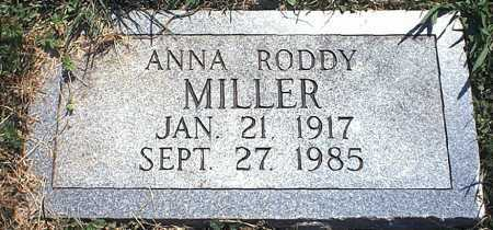 RODDY MILLER, ANNA ROSE - Washington County, Ohio | ANNA ROSE RODDY MILLER - Ohio Gravestone Photos