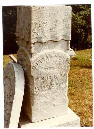 MILLER, CONRAD - Washington County, Ohio | CONRAD MILLER - Ohio Gravestone Photos