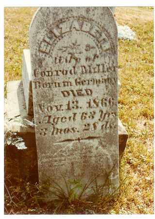 MILLER, ELIZABETH - Washington County, Ohio | ELIZABETH MILLER - Ohio Gravestone Photos