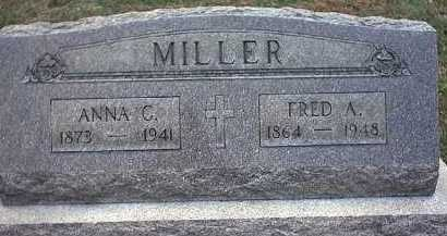 MILLER, FREDERICK A. - Washington County, Ohio | FREDERICK A. MILLER - Ohio Gravestone Photos