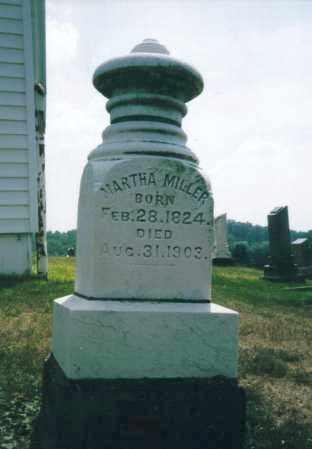 TRUAX MILLER, MARTHA - Washington County, Ohio | MARTHA TRUAX MILLER - Ohio Gravestone Photos