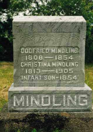 MINDLING, GODFRIED - Washington County, Ohio | GODFRIED MINDLING - Ohio Gravestone Photos