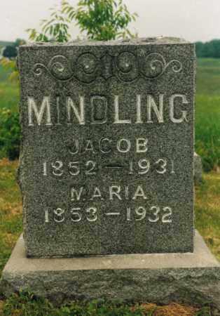 MINDLING, JACOB - Washington County, Ohio | JACOB MINDLING - Ohio Gravestone Photos