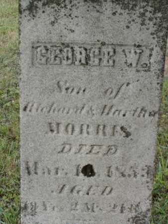 MORRIS, GEORGE W. - Washington County, Ohio | GEORGE W. MORRIS - Ohio Gravestone Photos