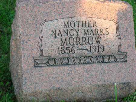 MARKS MORROW, NANCY - Washington County, Ohio | NANCY MARKS MORROW - Ohio Gravestone Photos