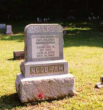 SCHOONOVER NEEDHAM, CAROLINE M. - Washington County, Ohio | CAROLINE M. SCHOONOVER NEEDHAM - Ohio Gravestone Photos