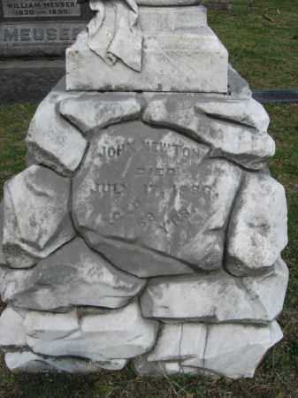 NEWTON, JOHN - Washington County, Ohio | JOHN NEWTON - Ohio Gravestone Photos