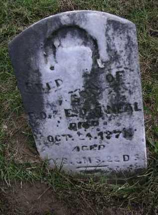 O'NEAL, FRED - Washington County, Ohio | FRED O'NEAL - Ohio Gravestone Photos