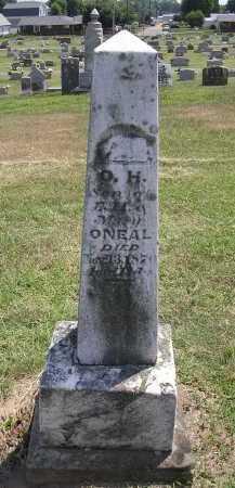 O'NEAL, O.H. - Washington County, Ohio | O.H. O'NEAL - Ohio Gravestone Photos