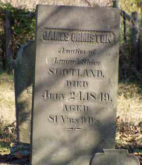 ORMISTON, JAMES - Washington County, Ohio   JAMES ORMISTON - Ohio Gravestone Photos
