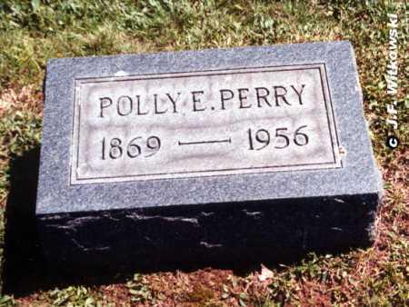 PERRY, POLLY E. - Washington County, Ohio | POLLY E. PERRY - Ohio Gravestone Photos