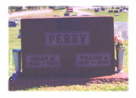 PERRY, WILLIAM JENNINGS - Washington County, Ohio | WILLIAM JENNINGS PERRY - Ohio Gravestone Photos