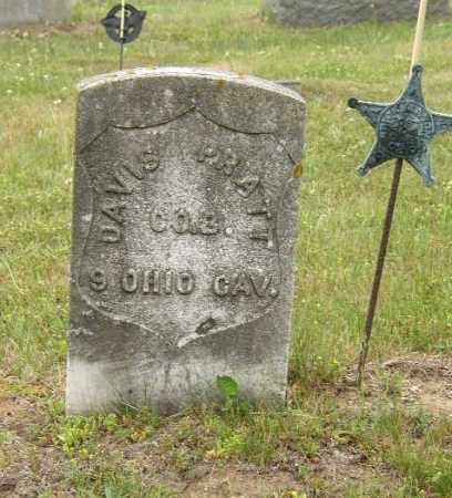 PRATT, DAVIS - Washington County, Ohio | DAVIS PRATT - Ohio Gravestone Photos