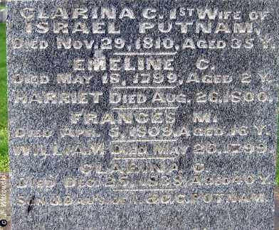 PUTNAM, EMELINE C. - Washington County, Ohio | EMELINE C. PUTNAM - Ohio Gravestone Photos