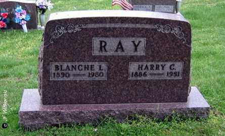 RAY, BLANCHE L. - Washington County, Ohio | BLANCHE L. RAY - Ohio Gravestone Photos