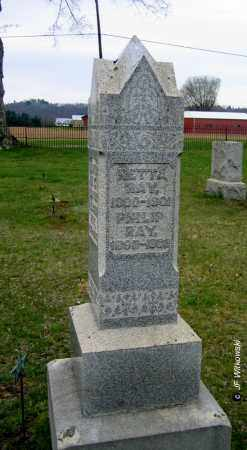 RAY, RETTA (HENRIETTA) - Washington County, Ohio | RETTA (HENRIETTA) RAY - Ohio Gravestone Photos