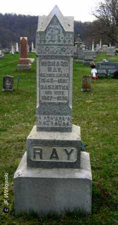LANAM RAY, SAMANTHA - Washington County, Ohio   SAMANTHA LANAM RAY - Ohio Gravestone Photos