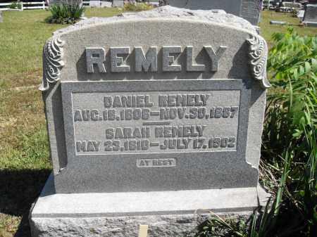 REMELY, SARAH - Washington County, Ohio   SARAH REMELY - Ohio Gravestone Photos