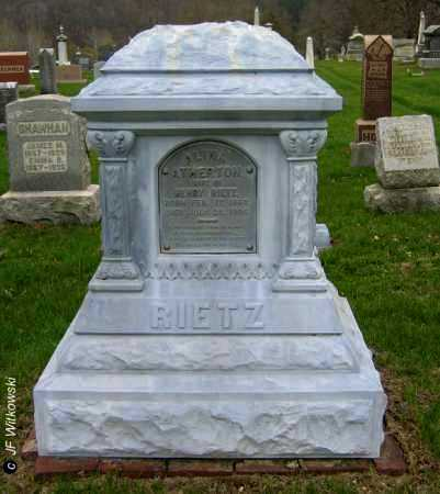 "ATHERTON RIETZ, ALINA ""LINA"" - Washington County, Ohio | ALINA ""LINA"" ATHERTON RIETZ - Ohio Gravestone Photos"