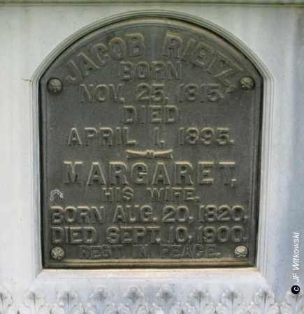 RIETZ, MARGARET - Washington County, Ohio   MARGARET RIETZ - Ohio Gravestone Photos