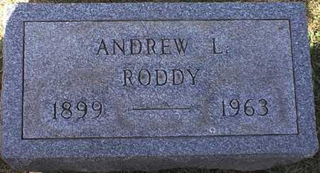 RODDY, ANDREW LEO - Washington County, Ohio | ANDREW LEO RODDY - Ohio Gravestone Photos