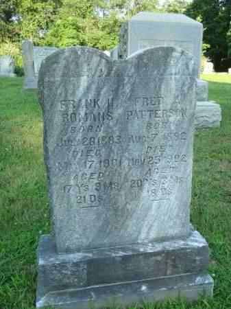 PATTERSON, FRED - Washington County, Ohio | FRED PATTERSON - Ohio Gravestone Photos