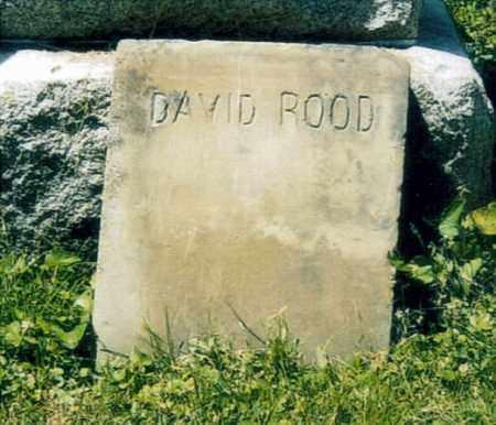 ROOD, DAVID - Washington County, Ohio | DAVID ROOD - Ohio Gravestone Photos