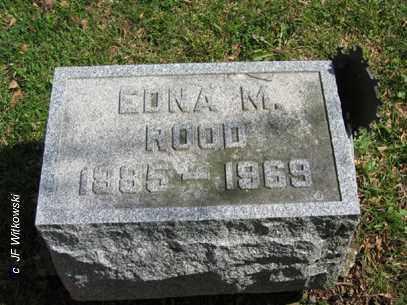 ROOD, EDNA M. - Washington County, Ohio | EDNA M. ROOD - Ohio Gravestone Photos