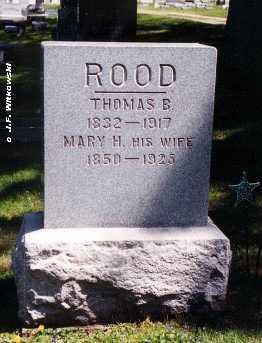 HANEY ROOD, MARY JANE - Washington County, Ohio | MARY JANE HANEY ROOD - Ohio Gravestone Photos