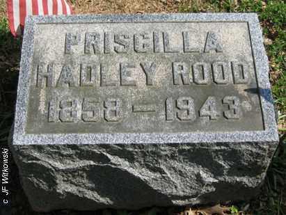 ROOD, PRISCILLA - Washington County, Ohio | PRISCILLA ROOD - Ohio Gravestone Photos