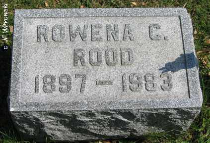 ROOD, ROWENA C. - Washington County, Ohio | ROWENA C. ROOD - Ohio Gravestone Photos