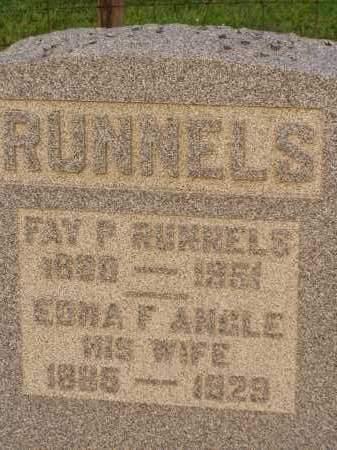 RUNNELS, EDNA F. - Washington County, Ohio | EDNA F. RUNNELS - Ohio Gravestone Photos
