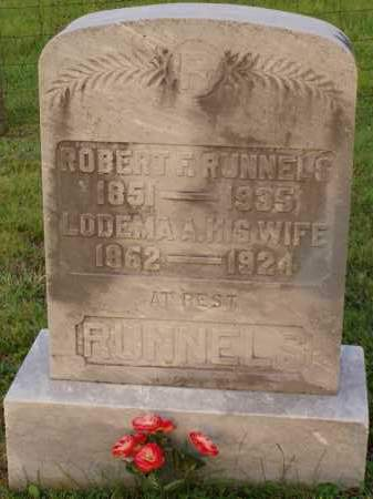 DUNSMOORE RUNNELS, LODEMA - Washington County, Ohio | LODEMA DUNSMOORE RUNNELS - Ohio Gravestone Photos