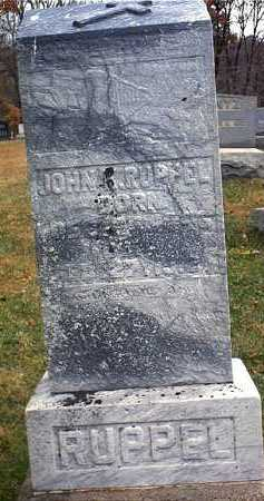 RUPPEL, JOHN KONRAD - Washington County, Ohio | JOHN KONRAD RUPPEL - Ohio Gravestone Photos