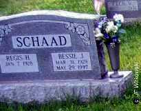 SCHAAD, REGIS H. - Washington County, Ohio | REGIS H. SCHAAD - Ohio Gravestone Photos