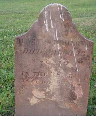 SCHOONOVER, HENRY - Washington County, Ohio   HENRY SCHOONOVER - Ohio Gravestone Photos
