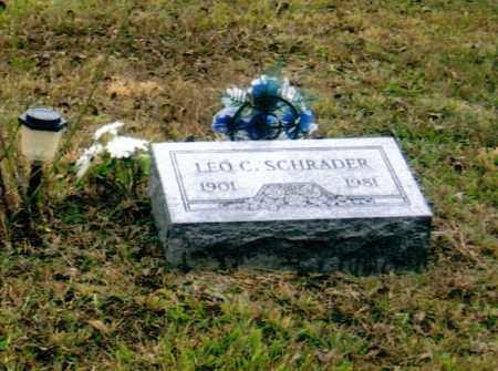 SCHRADER, LEO CHESTER - Washington County, Ohio | LEO CHESTER SCHRADER - Ohio Gravestone Photos