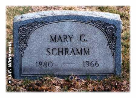 BARNHART SCHRAMM, MARY CATHERINE - Washington County, Ohio | MARY CATHERINE BARNHART SCHRAMM - Ohio Gravestone Photos