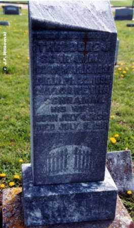 SCHRAMM, THEODORE J. SR. - Washington County, Ohio | THEODORE J. SR. SCHRAMM - Ohio Gravestone Photos