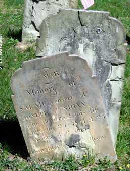 ALLISON SHINN, SARAH - Washington County, Ohio | SARAH ALLISON SHINN - Ohio Gravestone Photos