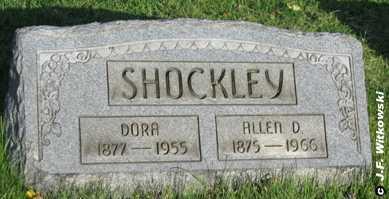 SHOCKLEY, DORA - Washington County, Ohio | DORA SHOCKLEY - Ohio Gravestone Photos
