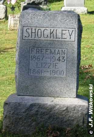 SHOCKLEY, FREEMAN - Washington County, Ohio | FREEMAN SHOCKLEY - Ohio Gravestone Photos