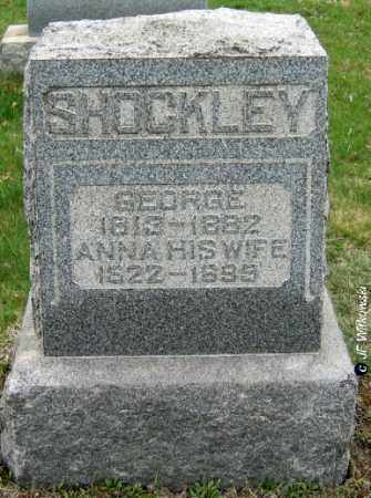PERRY SHOCKLEY, ANNA - Washington County, Ohio | ANNA PERRY SHOCKLEY - Ohio Gravestone Photos